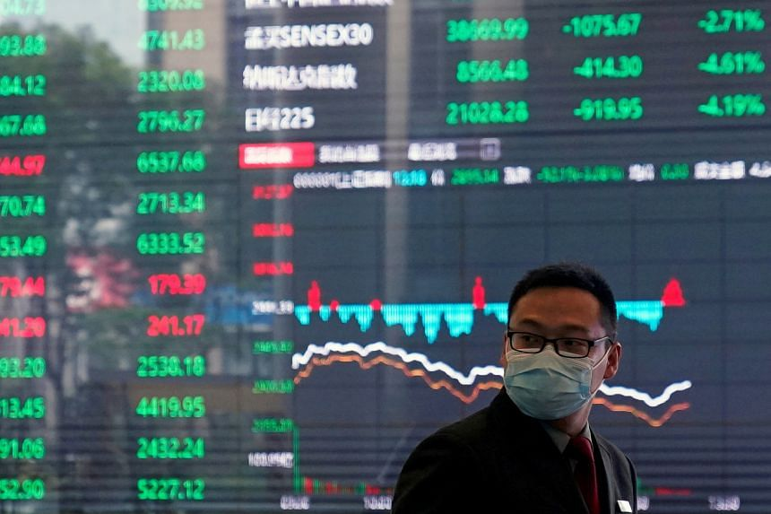 A rally in Chinese stocks had added about US$1 trillion to equity values.