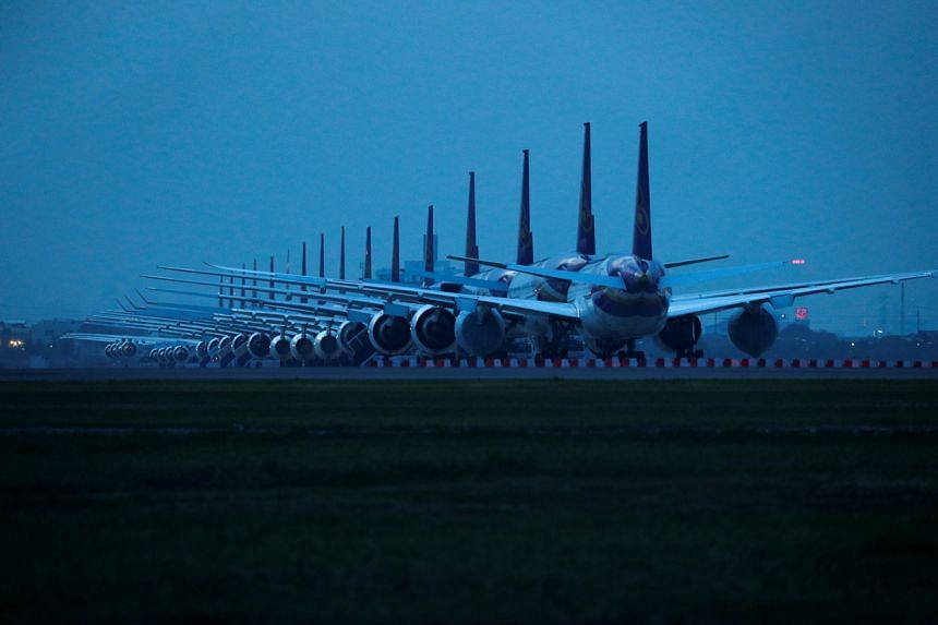 Aircraft are being brought out of storage to meet the growing demand.