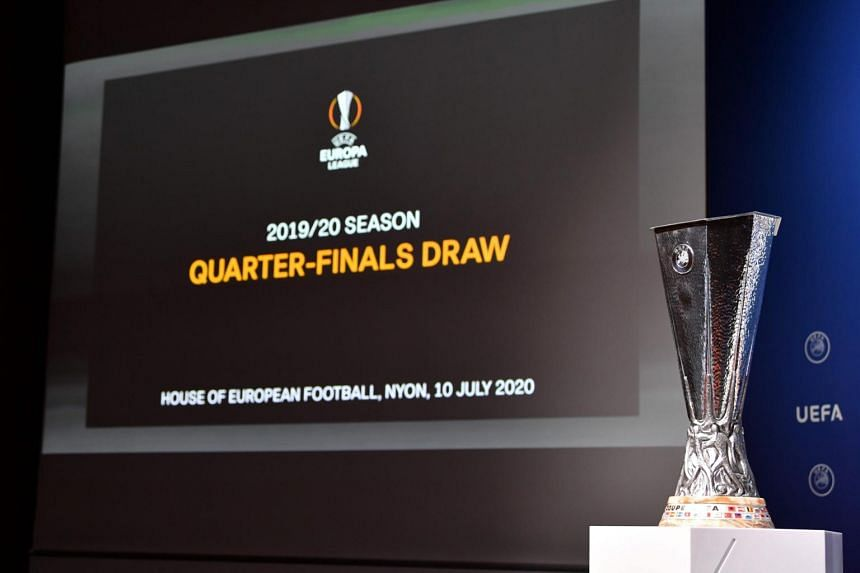 football europa league draw leaves open potential man united wolves semi final football news top stories the straits times football europa league draw leaves