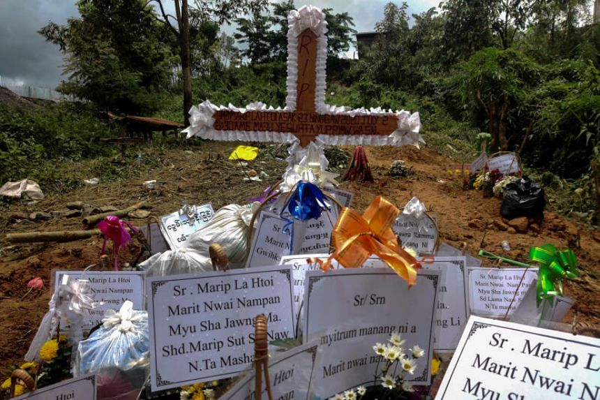 Mr La Htoi was one of 172 people buried alive in Myanmar's worst mining disaster in memory.