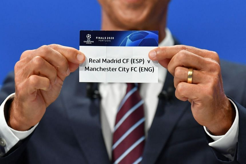 Champions League draw: Ronaldo and Barcelona in Real Madrid's path