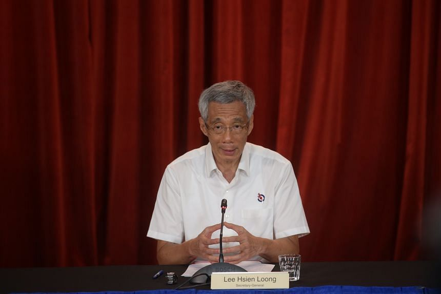 PM Lee said he was satisfied with the results of GE2020, and the vote share showed wide support for the Government.