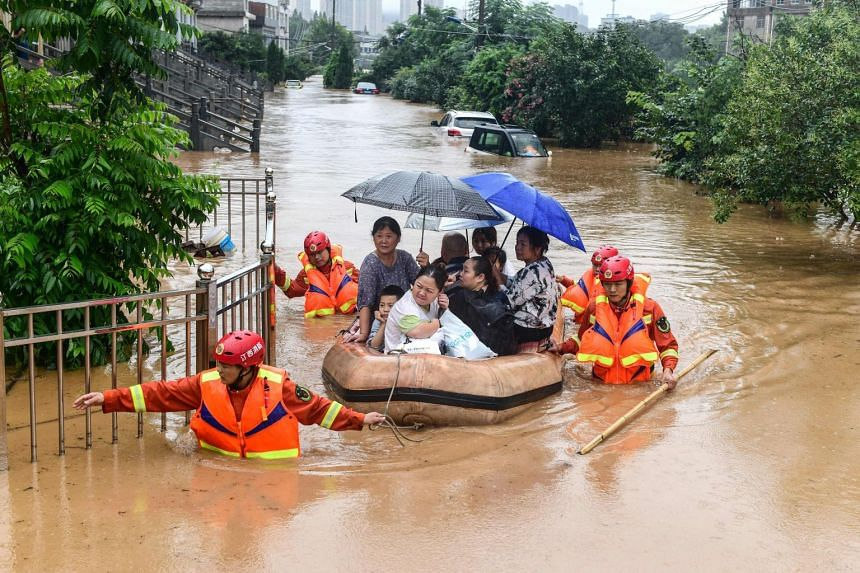 China Raises Flood Alert to Second Highest Level