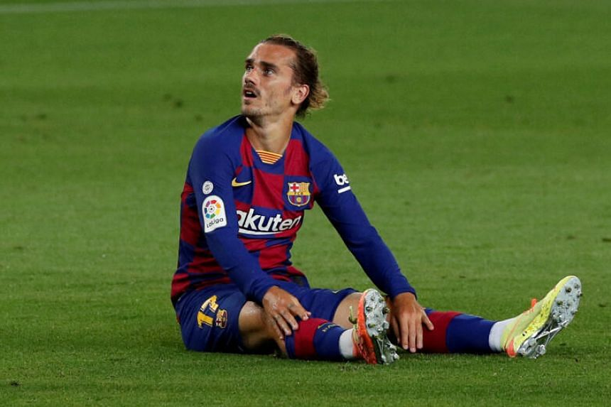 Antoine Griezmann likely to miss rest of Spanish season with injury