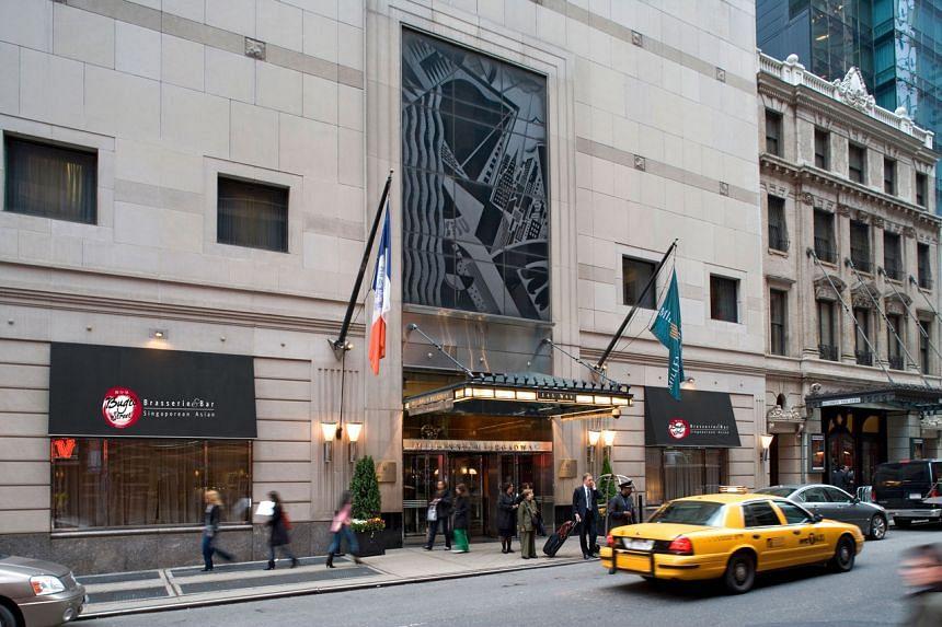 The Millennium Broadway hotel in New York.