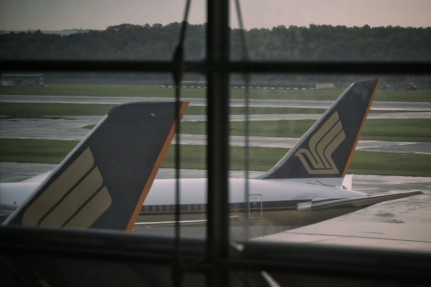 SIA said it will continue to adjust its capacity to match the demand for international air travel.