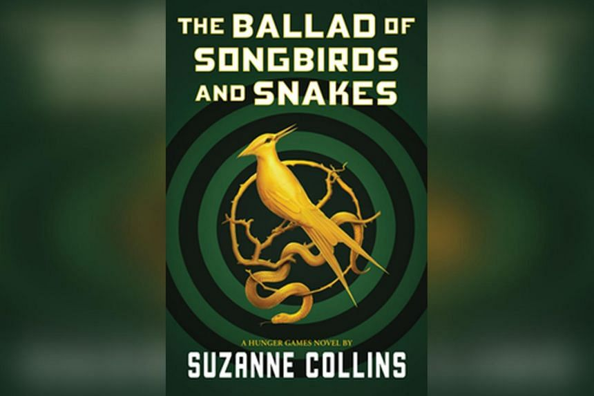 Book cover for The Ballad Of Songbirds And Snakes by Suzanne Collins.