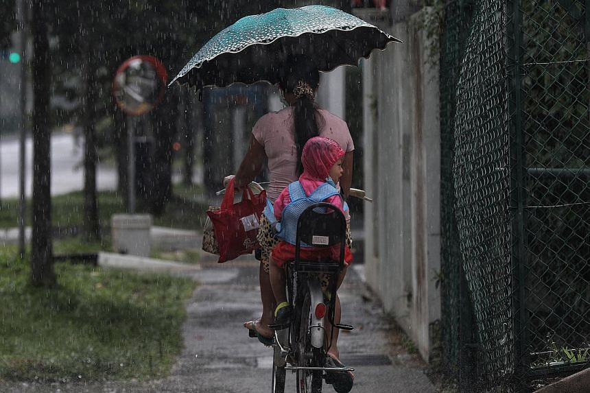 Singapore's wet weather will continue for the rest of this week, as the Meteorological Services Singapore (MSS) forecasts thundery showers from today until Friday. In its fortnightly update on July 1, the MSS said that last month was the coolest Jun