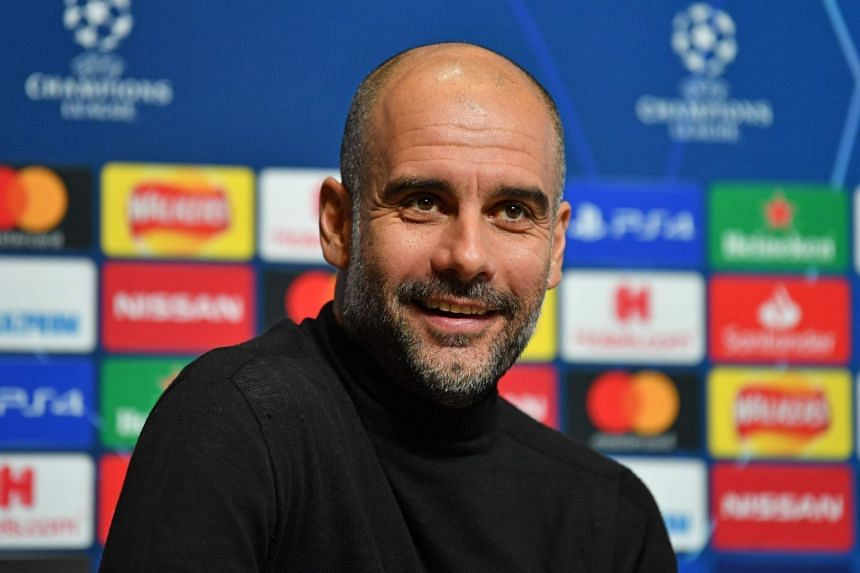 Guardiola (above) feels City are owed an apology.