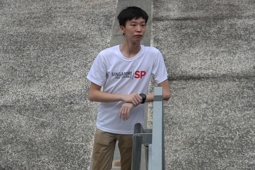 Mr Lee Rui Xuan scored a GPA of 3.88 in his first year, and received an SP Engineering Scholarship.