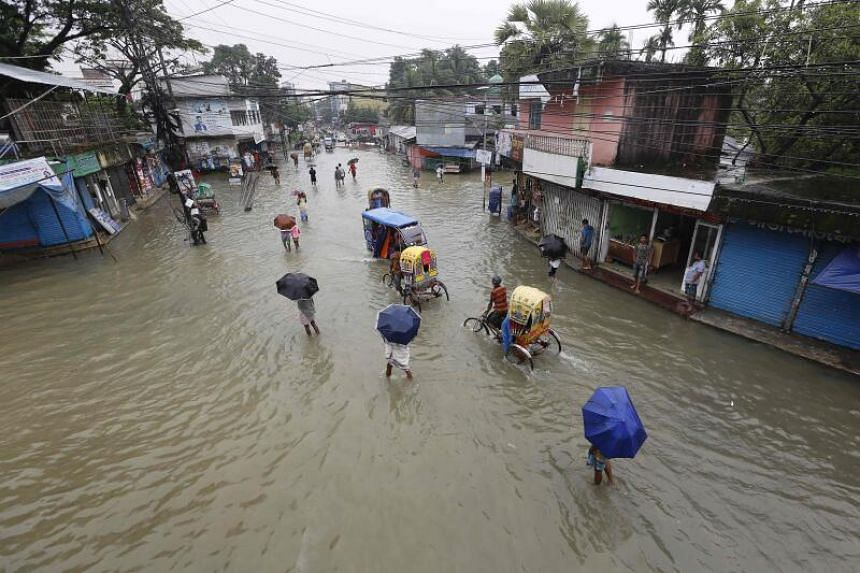 At least 1.5 million people are affected by the monsoon floods.