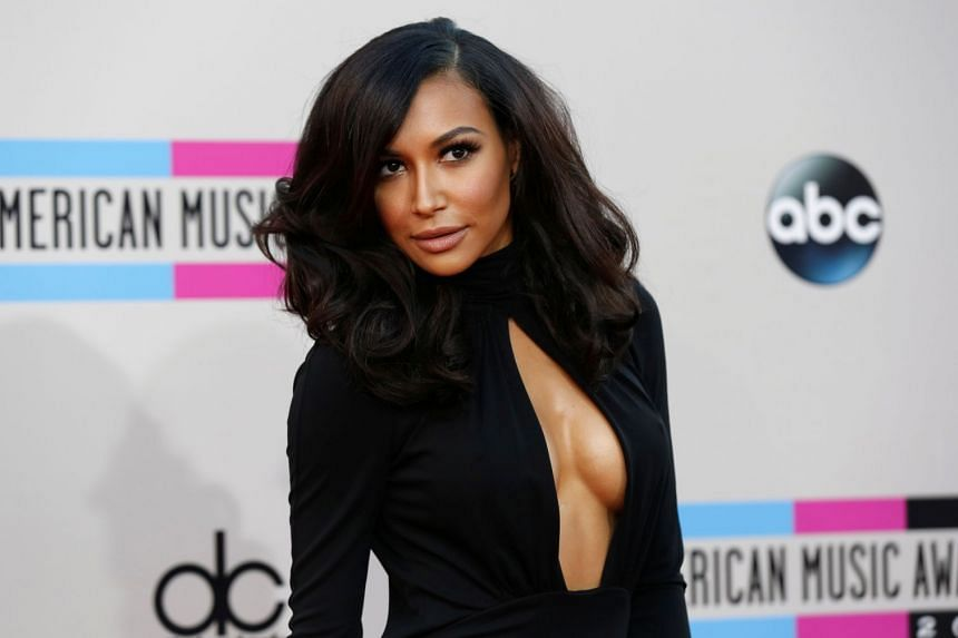 A 2013 photo shows Naya Rivera arriving fort the 41st American Music Awards in Los Angeles.