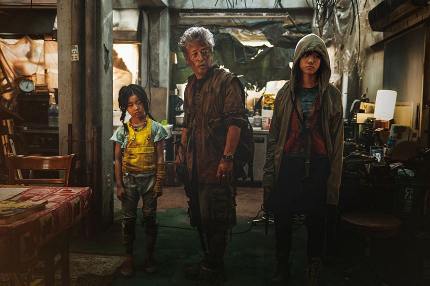 A still from the film Train To Busan: Peninsula.