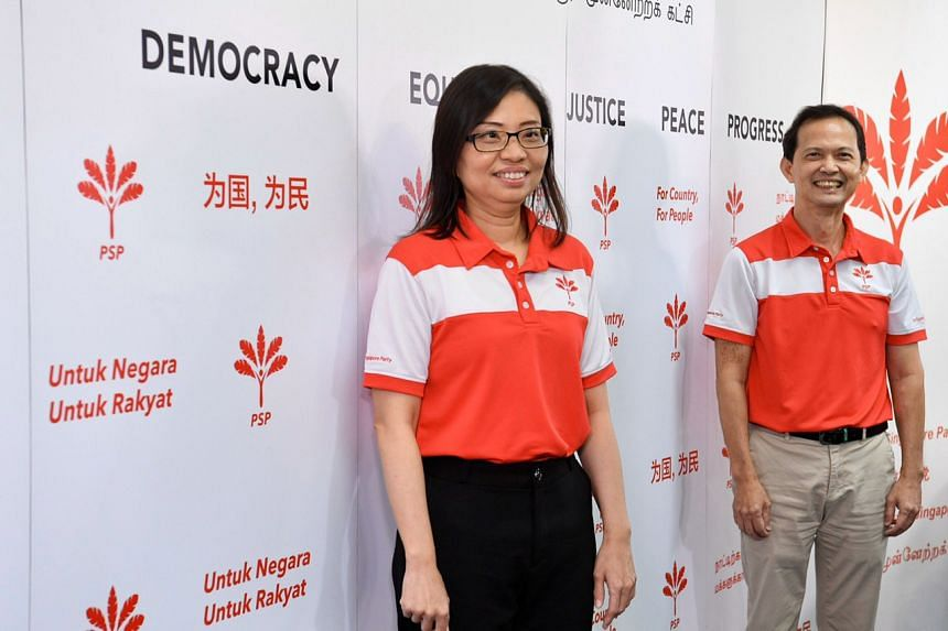 The PSP's vice-chairman Hazel Poa and assistant secretary-general Leong Mun Wai contested West Coast GRC.