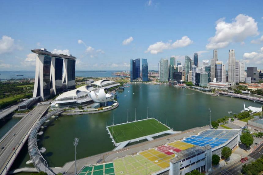 The Float @ Marina Bay was initially built as a temporary National Day Parade venue.