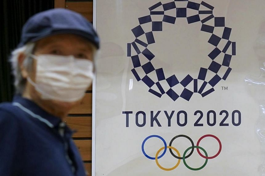 The Olympics was originally scheduled to start in July but put off to 2021 because of the pandemic.