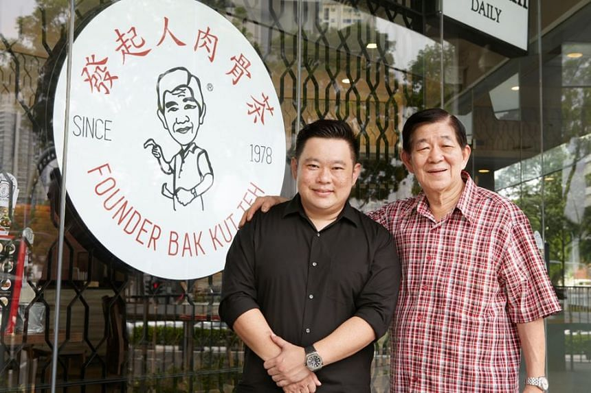 Mr Nigel Chua (left) said the home-grown brand is in danger of closing in the next two months as business has plummeted by 85 per cent over the last five months.
