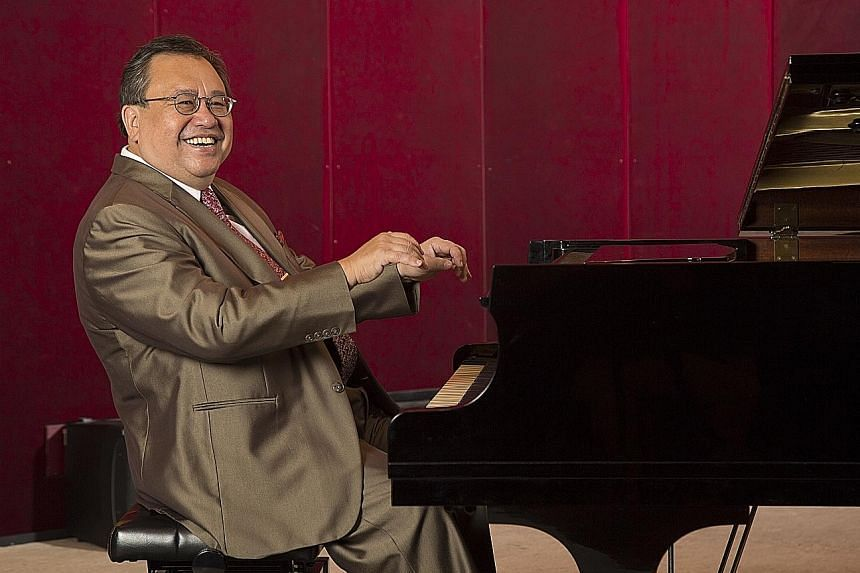 Jazz pianist Jeremy Monteiro (above) has played in over 3,000 gigs and recorded 45 jazz albums.