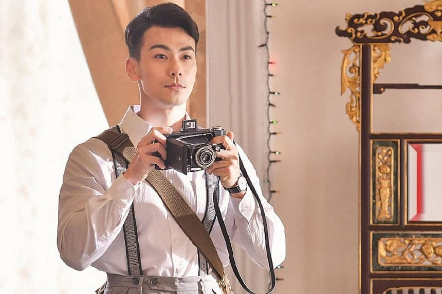 Chinese actor Dai Xiangyu as photographer Yamamoto Yousuke in the remake of The Little Nyonya. Netizens have commented that he hardly looks a day older than 12 years ago.