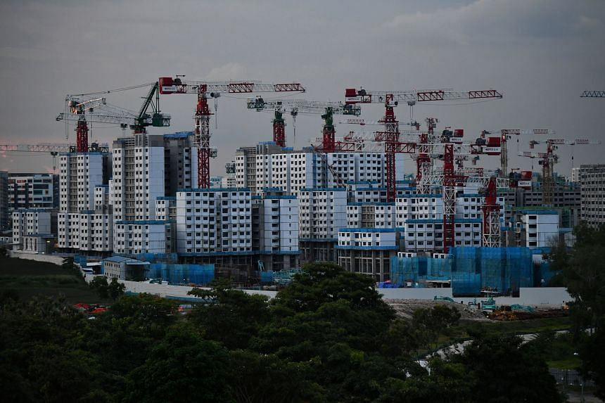 HDB said 64 BTO sites have been approved by the Building and Construction Authority to resume works.
