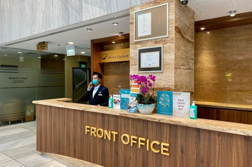 Parkway Pantai's four hospitals have implemented stringent safety measures to promote a safer working environment for its staff and provide peace of mind for patients and visitors visiting the hospitals. PHOTO: PARKWAY PANTAI