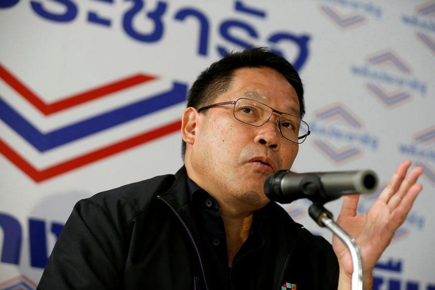 Thailand's Finance Minister Uttama Savanayana confirmed his resignation at a briefing.