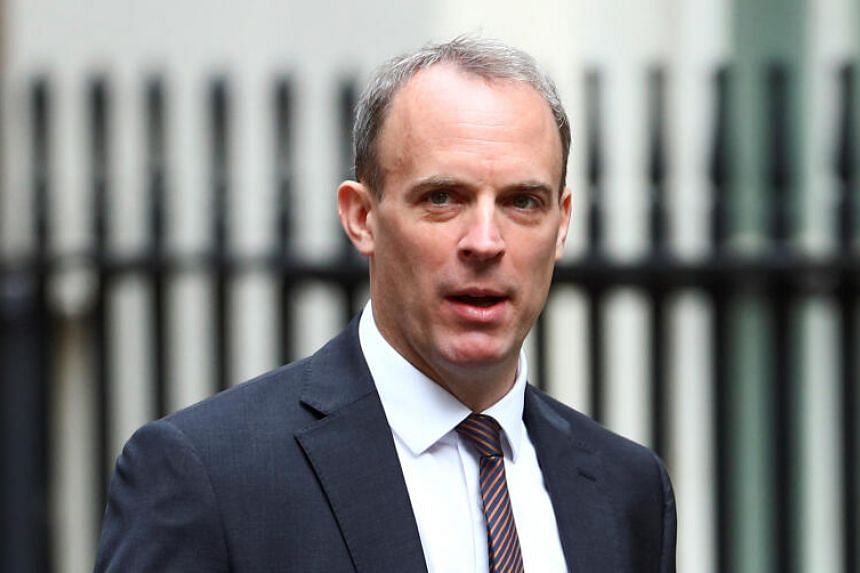 British Foreign Minister Dominic Raab that Russian actors almost certainly sought to interfere in last year's election.