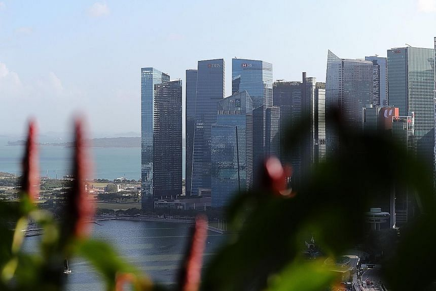 MAS expects growth in the financial services sector to slow between June and December due to weaker credit demand and lower interest rate margins, the sector is also unlikely to contract. MAS managing director Ravi Menon said the sector is also expec