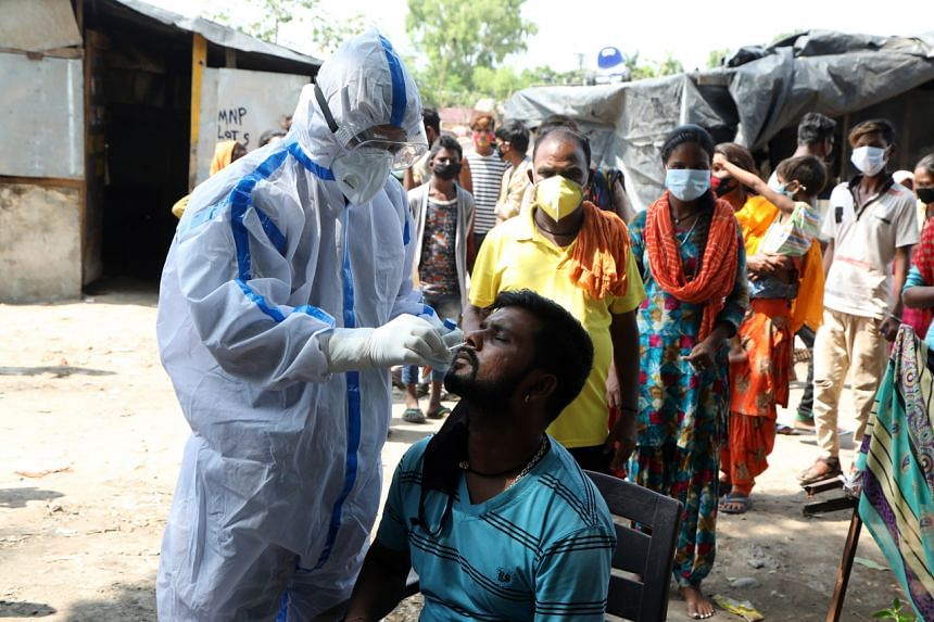India now has the third-highest total cases - 1,003,832 cases and 25,602 deaths - after the United States and Brazil.