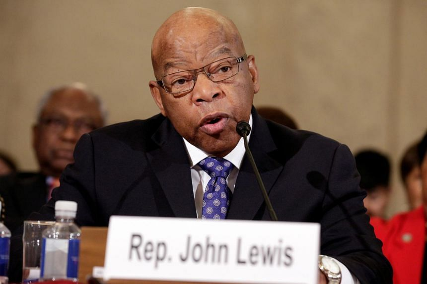 Civil rights warrior John Lewis was one of the US' most powerful voices for justice and equality.