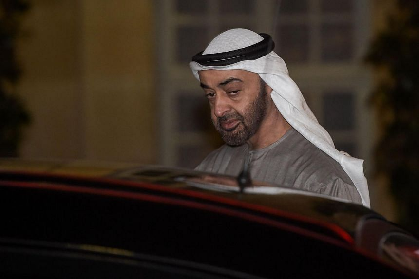 An initial investigation had been opened in October 2019 against the crown prince of Abu Dhabi, Mohammed bin Zayed Al-Nahyan.