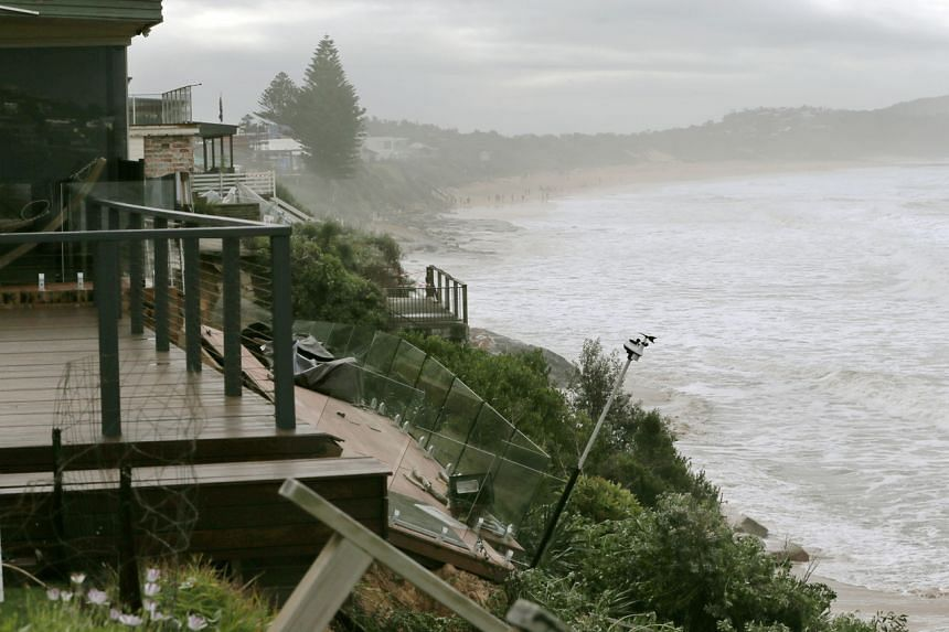 Residents of Wamberal, north of Sydney, were evacuated as waves as high as 11m sped up erosion near beachfront homes.