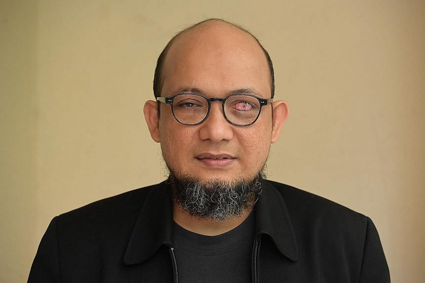 Mr Novel Baswedan, a senior graft investigator, was partially blinded in an acid attack in April 2017.