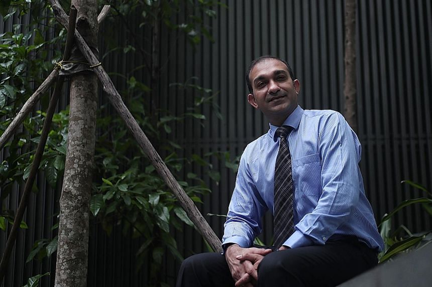 Validus Capital's co-founder and executive director, Mr Vikas Nahata, says he makes sure his own investments remain diversified to weather uncertain times.