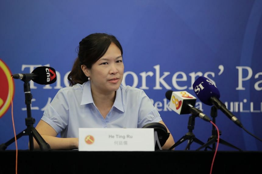 WP's Ms He Ting Ru had led the Sengkang GRC team to victory in the July 10 polls.