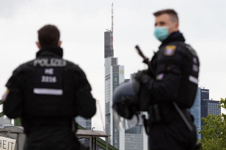 German police unions and emergency workers have been warning of authorities facing greater hostility as they go about their work.