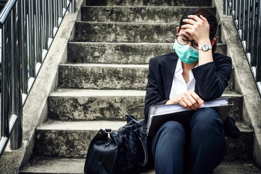 The emotional toll includes fears around getting the infection as much as anxiety tied to the economic uncertainty and job stability.