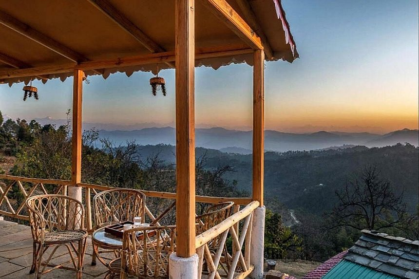 """A homestay in Toli, near Almora in India's Uttarakhand. A survey in May by Thomas Cook and SOTC Travel found that 64 per cent of respondents """"are likely"""" to take a domestic holiday this year."""