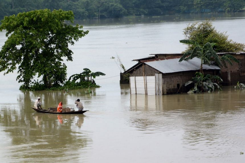 Rescue teams were facing a double challenge of rising flood waters amid the novel coronavirus.