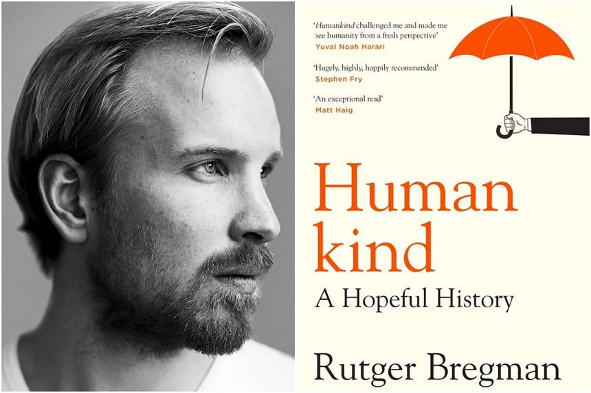 Rutger Bregman filled his book with examples of crises.