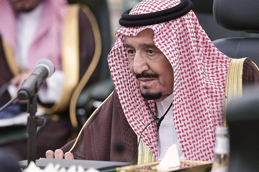 King Salman bin Abdulaziz of Saudi Arabia is undergoing medical tests at King Faisal Specialist Hospital after being diagnosed with an inflamed gallbladder.