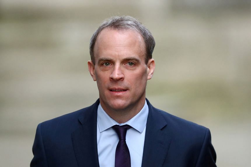 British Foreign Secretary Dominic Raab confirmed the extradition treaty suspension in parliament on July 20.