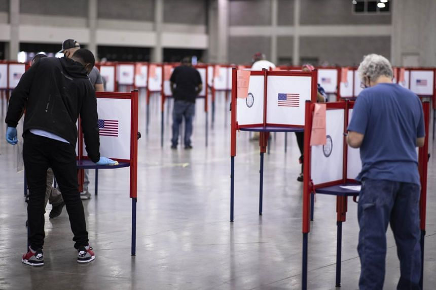 Election administrators are encouraging voting earlier this year to avoid problems at the polls.