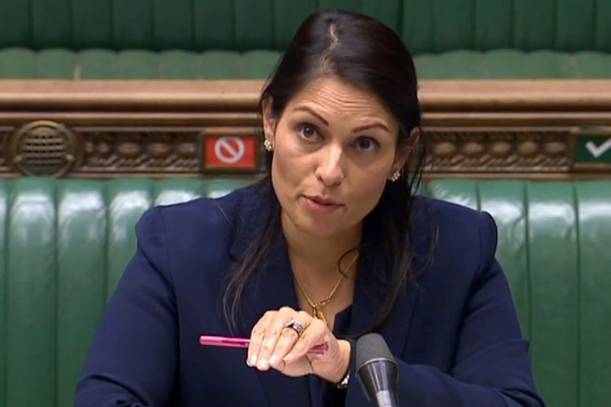 Interior minister Priti Patel said Britain's route to citizenship for people in Hong Kong will open in Jan 2021.