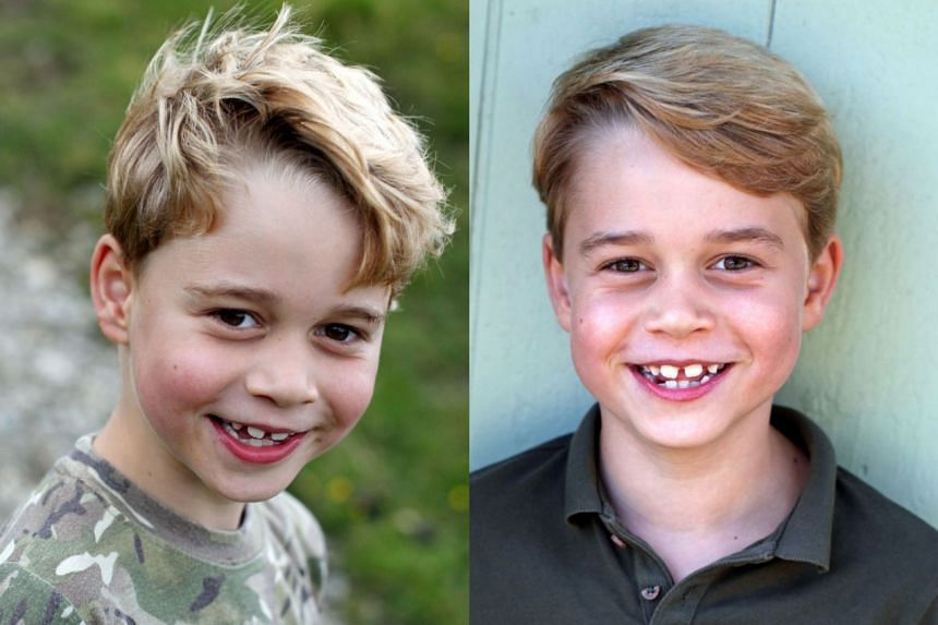 Prince George Turns 7! - See New Photos Taken by Mom Kate Middleton