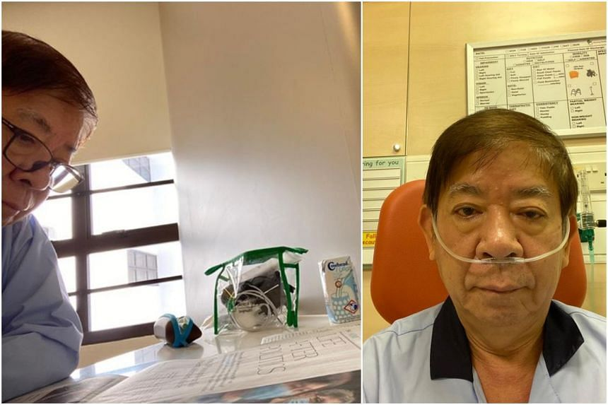 Minister Khaw Boon Wan said he was admitted to an isolation ward for observation and has received a swab test.