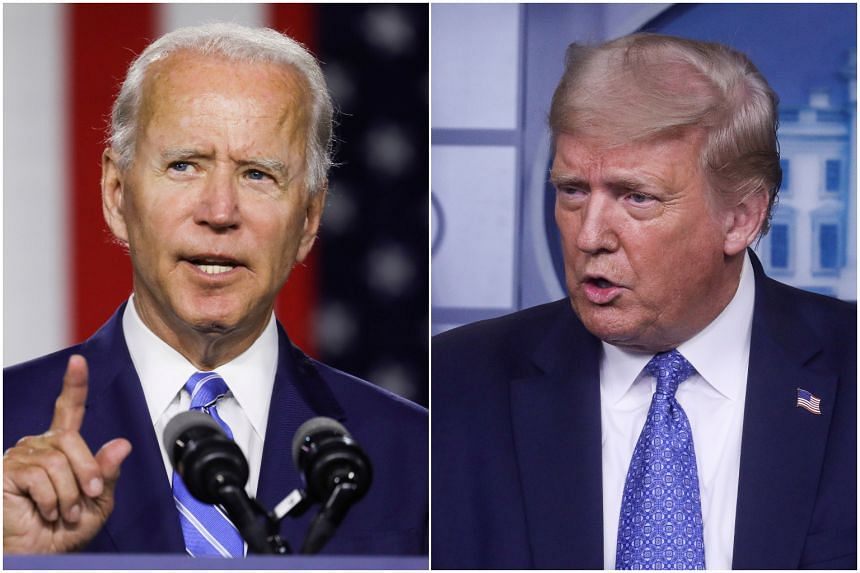 The Biden-Trump exchange marks an escalation in what had already been a heated clash on race ahead of the election.