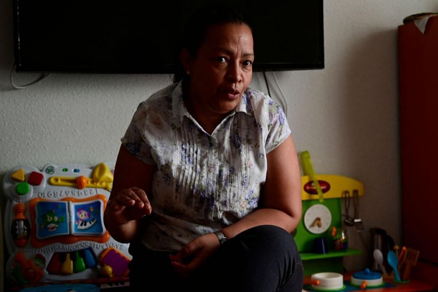 As an undocumented migrant in Madrid, Honduran Sonia Herrera cannot claim state aid.