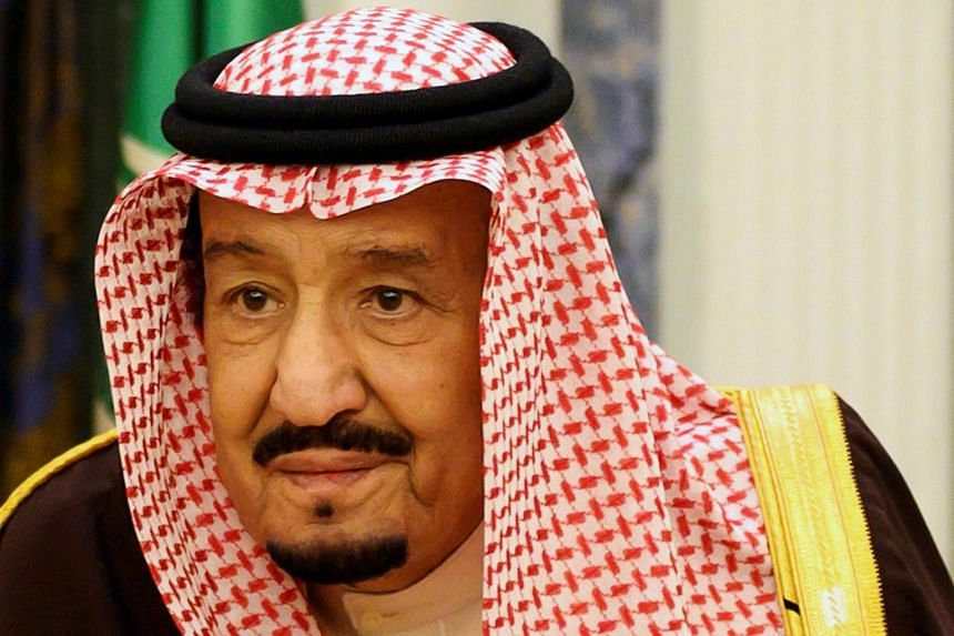 King Salman was admitted to hospital in the capital Riyadh on Monday.