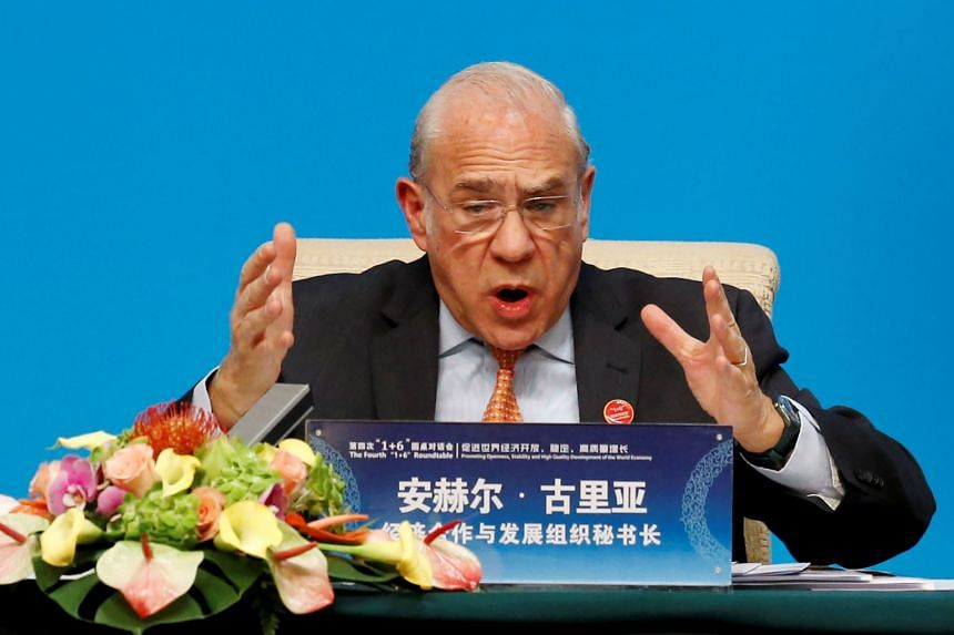 Current secretary-general Angel Gurria (above) has announced he will not seek a fourth term.